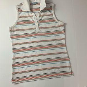 Woman's Callaway Sleeveless Golf Shirt Sz. Small